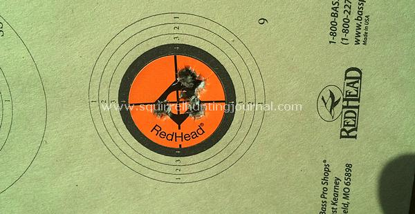 SK Subsonic HP Suppressed 50 yard group