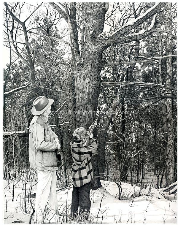 hunting_print grandads woods fast photo