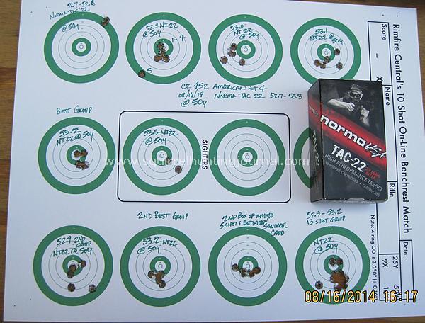 081614 NT 22 complete target
