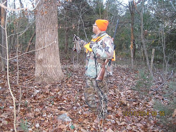 12-13-14 Mike's first squirrel