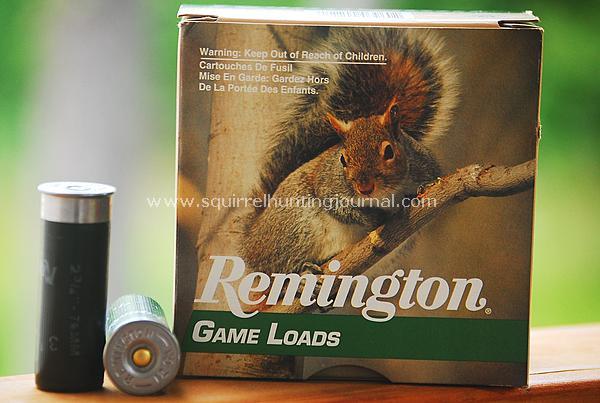 12 Gauge Squirrel Loads